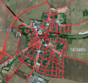Ukázka pokrytí Panoramy od Seznam.cz - Líbeznice