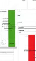 Červená, modrá, zelená – jsou pruhované obálky hrozbou?