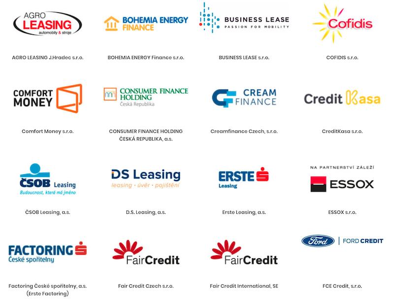 Ukázka z klientů nebankovního registru NRKI