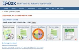 Vyhledávání informací na Katastru nemovitostí - adol.cz